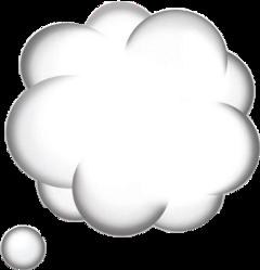 thinkingcloud emoji freetoedit