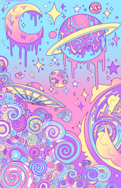ftestickers space background freetoedit