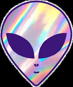 alien hologram purple aliens freetoedit