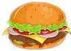 freetoedit hamburgesa