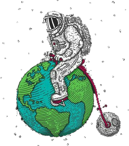 tumblr bike astronaut space funny photography