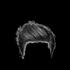 black hair wig freetoedit
