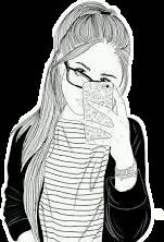 tumblr girl selfie freetoedit