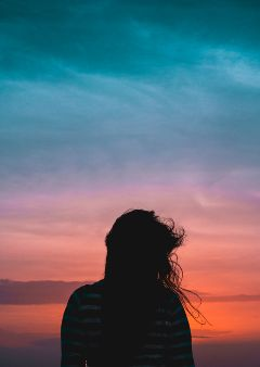freetoedit girl people colors sky