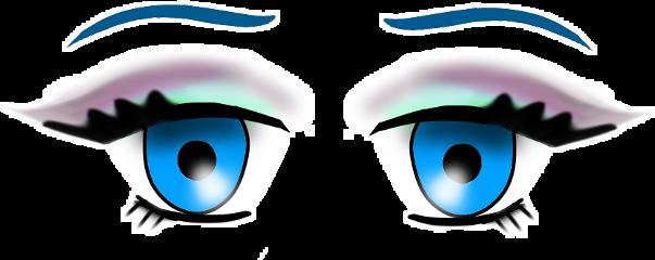 eyes anime colorful animegirl cute