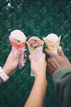 freetoedit icecream friends summer fun