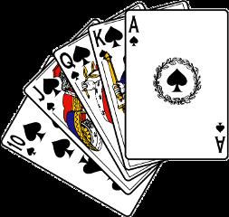 ftestickers freetoedit playingcard