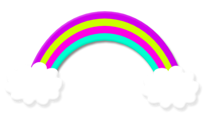 ftestickers rainbow cloud freetoedit