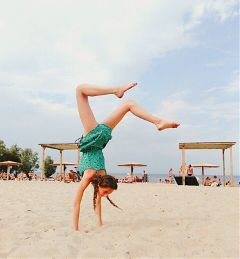 endlesssummer summer summerlove gymnastics girl freetoedit