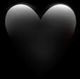 corazonnegro emojicorazon emoji freetoedit