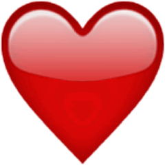 coeur emoji ios iphone freetoedit