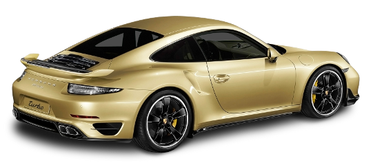 porsche gold aerokit turbo 911