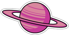 saturn planet tumblr sticker freetoedit