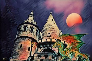dragon remix colorful edited popart freetoedit