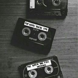 cassettetape feelingnothing whenursad freetoedit