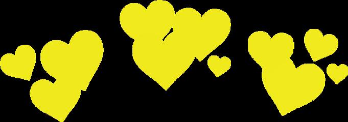 yellow crown filter snapchat freetoedit