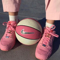 aesthetic imback interesting pink basketball freetoedit