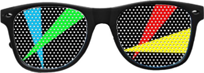 rave glasses freetoedit
