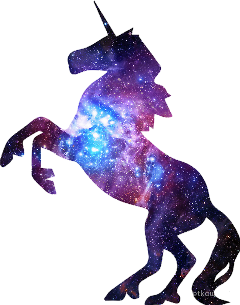 galaxy unicorn magic stars freetoedit