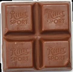 chocolate rittersport freetoedit