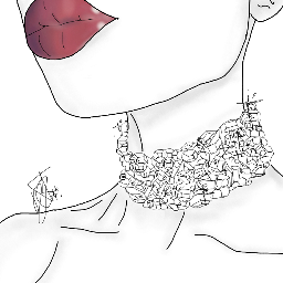 interesting art tumblr choker aesthetic freetoedit