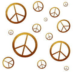 peace overlay transparent gold freetoedit