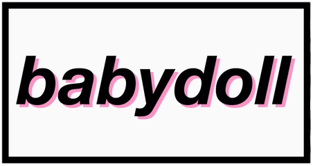 baby doll babydoll letters tumblr