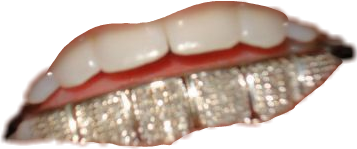 teeth grill freetoedit