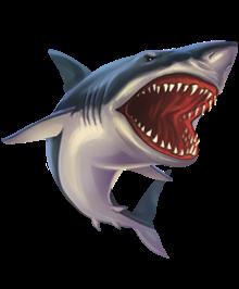 shark animal sticker ftestickers stickers