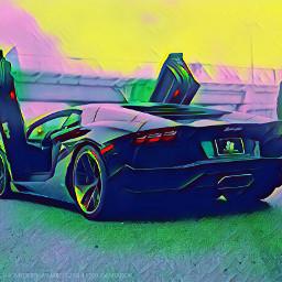 freetoedit colorbrightmagiceffect cars lamborghini