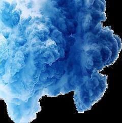 cloud smoke cloudsmoke blue cutout