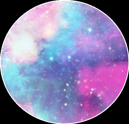 Wallpaper Galaxy Sky Pink Purple Tumblr Circle Decorati
