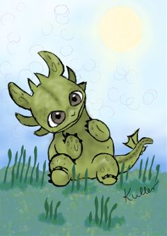 wdpanime digitalart mydrawing drawing dragon