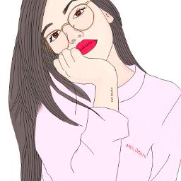 outline tumblr drawing pencilart cute