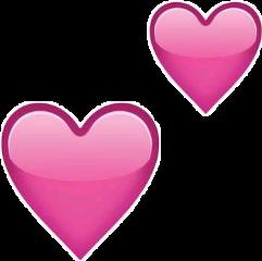corazón emoji rosa freetoedit coraz