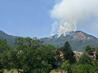 freetoedit fire mountain nature art
