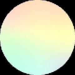 circle pastel rainbow freetoedit