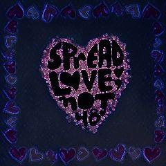 freetoedit lovenothate remix neon galaxymagiceffect