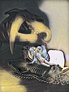 fairy beautifulgirl trilobite fantasy