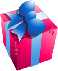 party present gift birthday freetoedit