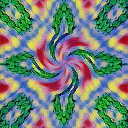swastika trippyart psychedelic