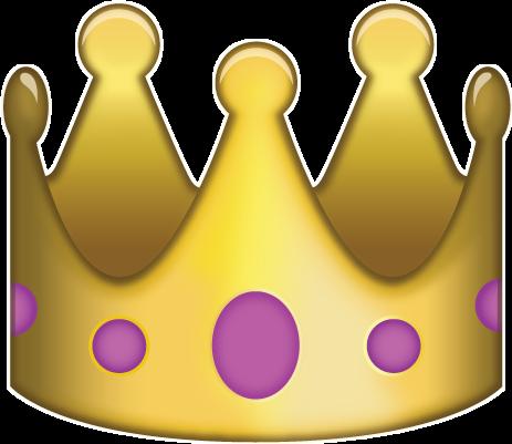 Resultado de imagen de crown whatsapp emoji