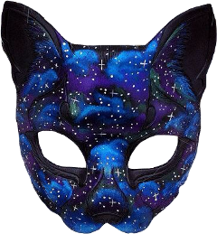 mask galaxy cat neko