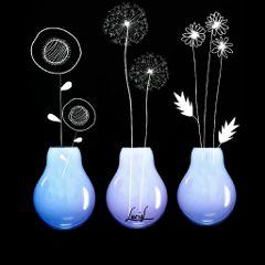 lamps maedow meadowdreams flowers stilizzato