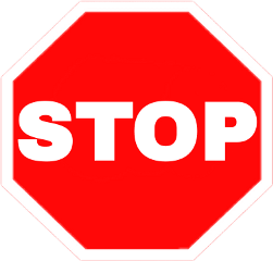stopsign stop sign roadsign red