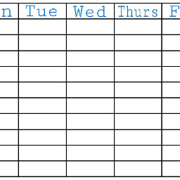 schedule school timetable