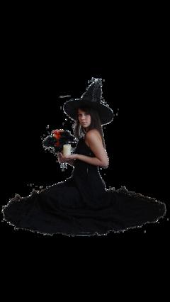 magic witch woman freetoedit