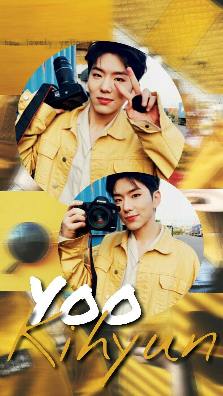 Kihyun Yookihyun Monstax Kpop Edit Aesthetic Wallpaper