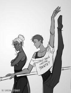 freetoedit ballet lancemcclain voltron allura