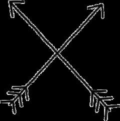 arrow black tumblr freetoedit